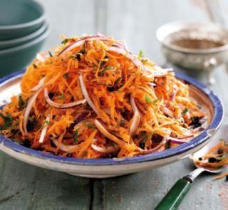 Moroccan carrot salad   Australian Healthy Food Guide