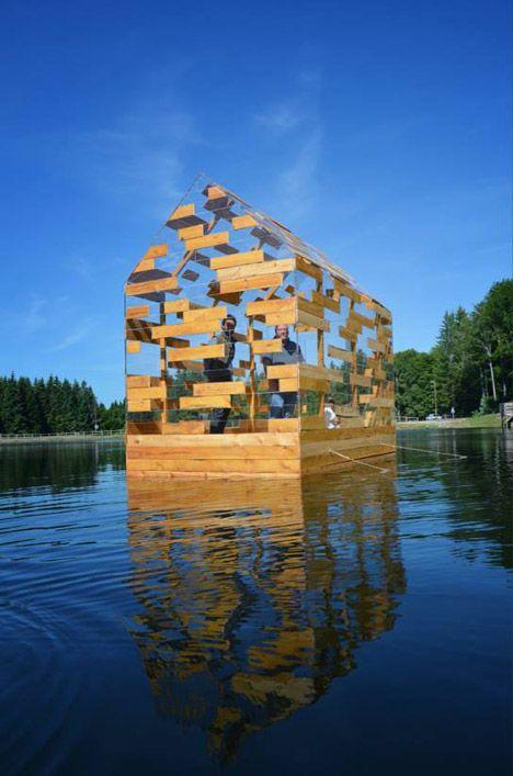 Walden Raft by Elise Morin and Florent Albinet