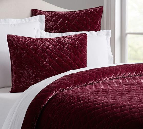 Nia Velvet Quilt Amp Sham Rose Bedroom Pinterest
