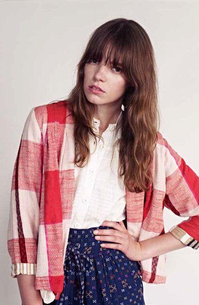 Camden Cardigan- I love this fabric as a cardigan!