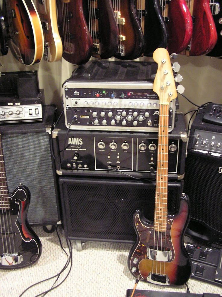 vintage aims precision bass copy left handed w matching aims personalized bass sound system. Black Bedroom Furniture Sets. Home Design Ideas