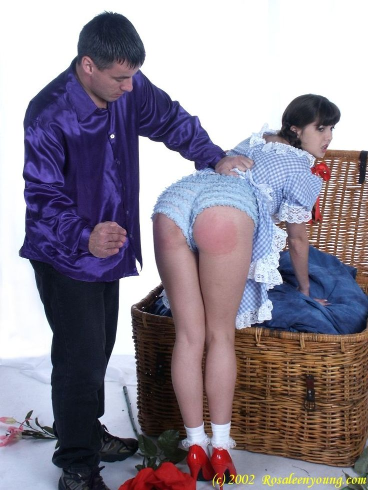 F f spank in jeans