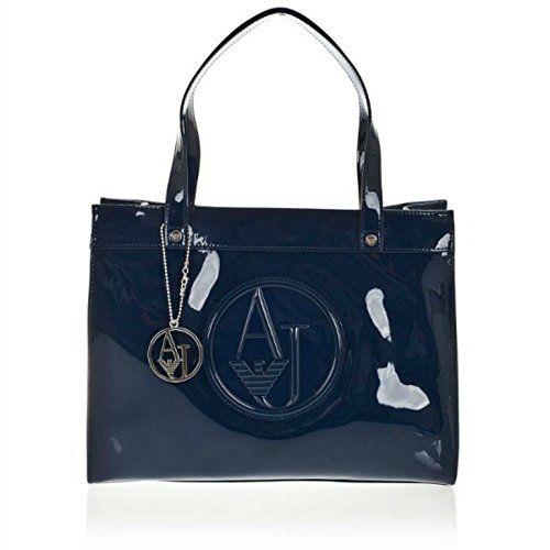 Armani Borse Facebook : Borsa armani jeans vernice donna blu brj in