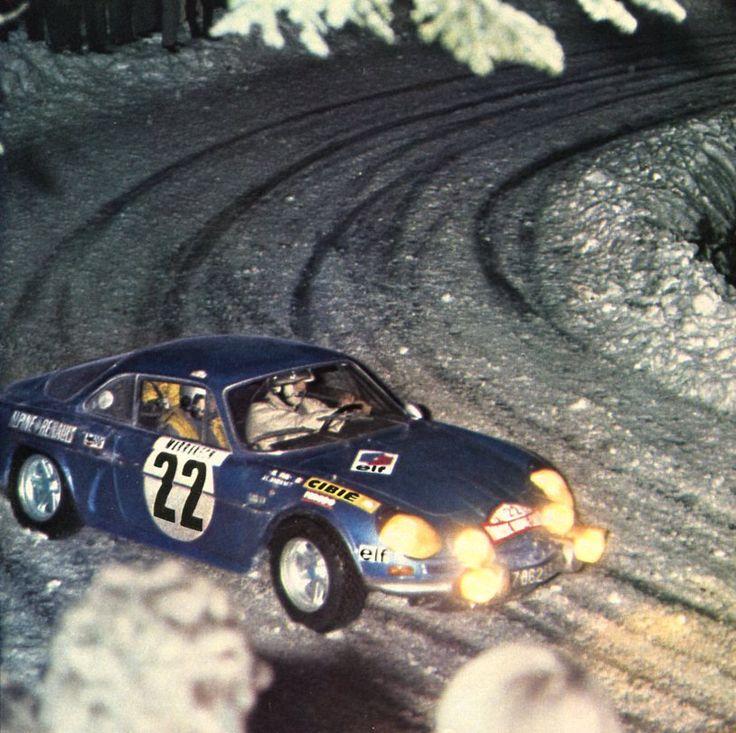 J.C. Andruet / Vial (Alpine-Renault A110 1600 S) - Rallye de…