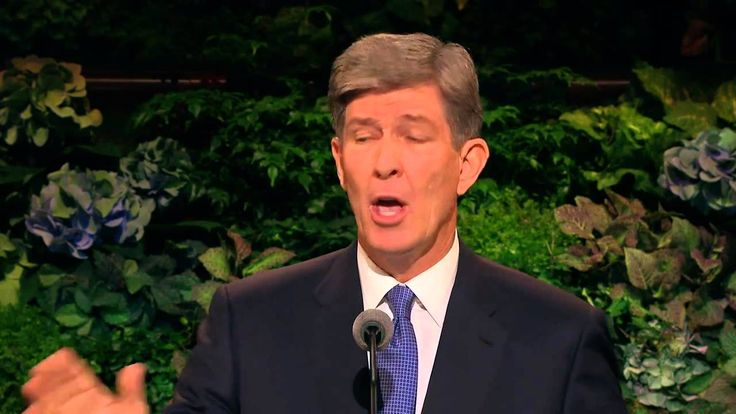 """""""Hastening the Lord's Game Plan!"""" - A great #ldsconf talk from S. Gifford Neilsen, a former quarterback for BYU and the Houston Oilers, and a current member of the First Quorum of the Seventy."""