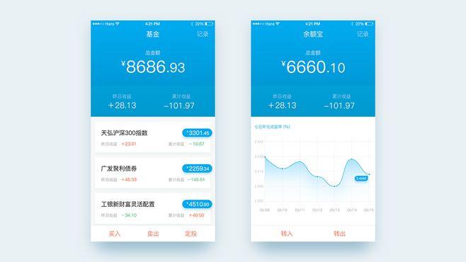 Financing App Design...