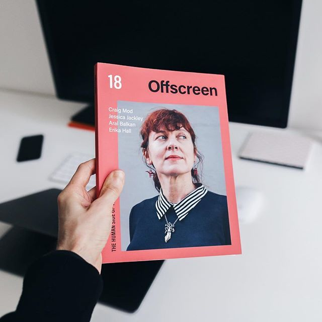 Just finished reading of the latest Offscreen Magazine (Issue #18) and bringing you a few highlights! 1 Im fascinated by the interview with Craig Mod who talks about distractions in todays world and describes living in quiet (basically offline) to fully focus on his creative work (he is mainly a writer). I went even further and found his interview at Hurry Slowly (hurryslowly.co) podcast dedicated to the power of concentration and how to break free from attention slavery. Quite interesting…