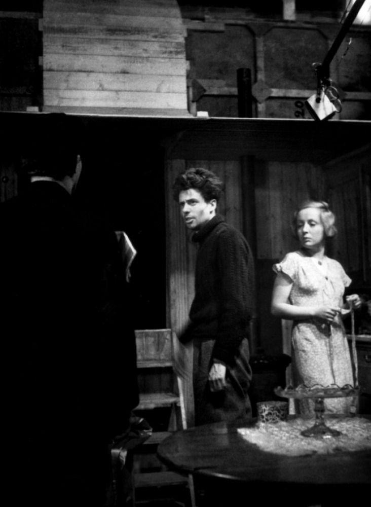 Jean Vigo, Jean Dasté and Dita Parlo L'Atalante   1934