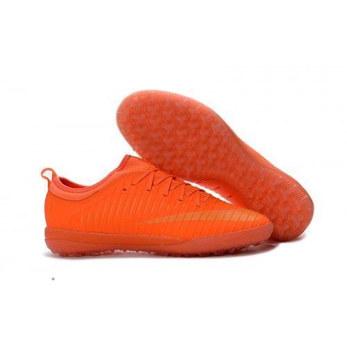 Comprar Botas de Futbol Nike Mercurial Finale II TF Naranjas Oro Hombre