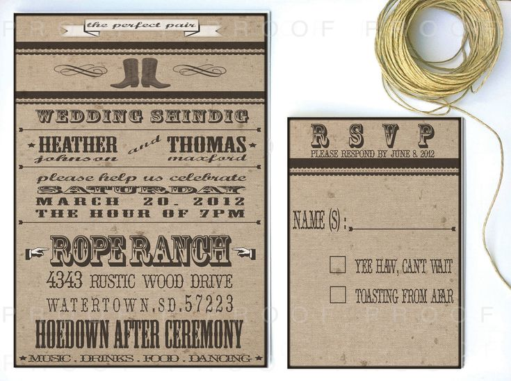 western wedding invitations western wedding invitation western ranch style 2 75 1263