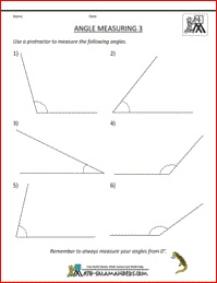 Printables Measuring Angles Worksheet 1000 images about angle worksheets on pinterest 5th grade math there are a range of to help children learn classify angles and measure using protractor