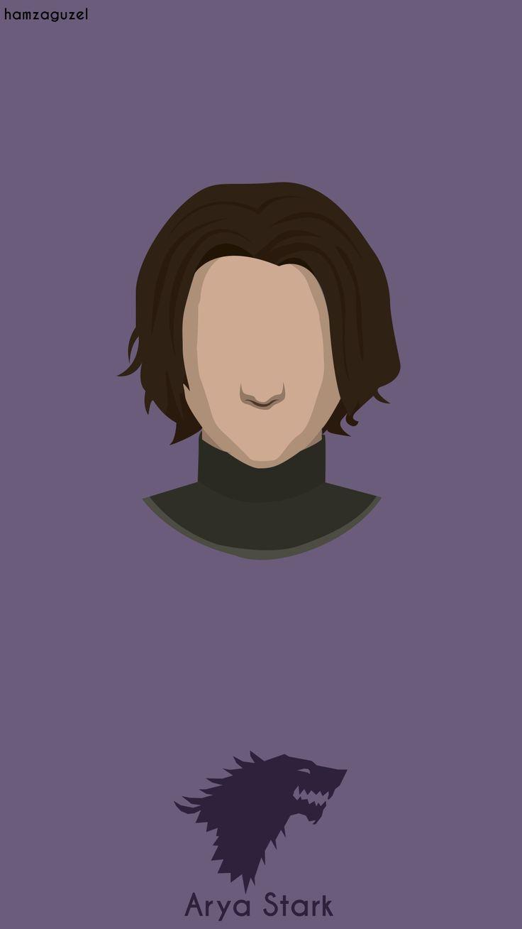 Game Of Thrones serisi v1 / Arya Stark minimalist duvarkağıdı. Behance : behance.net/gallery/40115249/Arya-Stark-Minimalist-Wallpaper  #aryastark #wallpaper #minimalist #hamzaguzel #agackakanfani #gameofthrones
