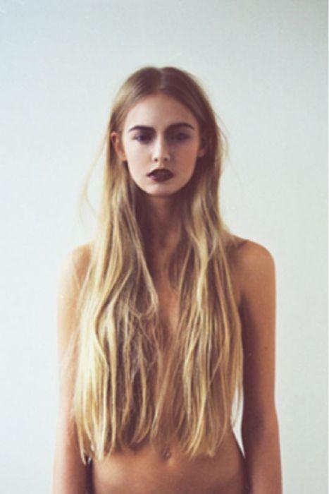 awesome boho indie fashion | fashion skinny vintage Model body natural long hair 69thstreet •
