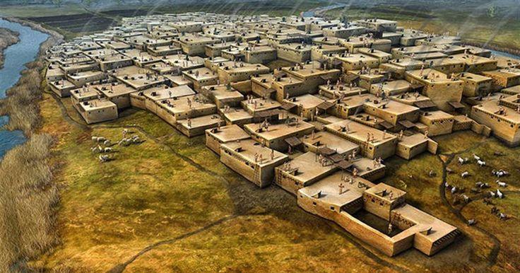 Çatalhöyük'te 9 bin yıl önce hem yerleşik hem de hükümetsiz eşit bir yaşam vardı