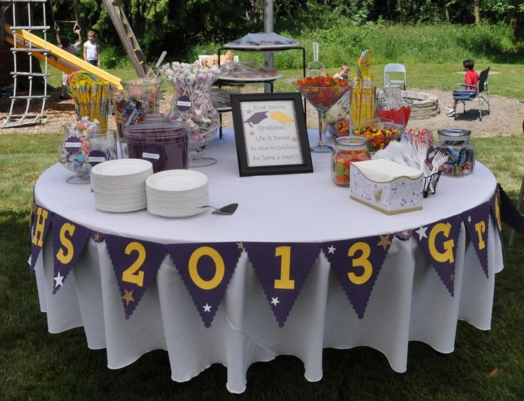 Grad party Candy Buffet