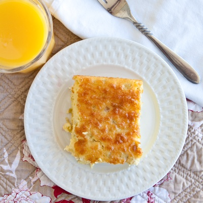 chile bacon and cheese egg bake recipes dishmaps chile egg and green ...