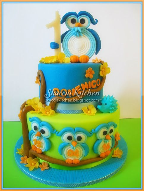 SKACCIA KITCHEN: Sweet Owls Cake