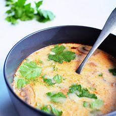 slow cooker Tom Kha Gai (Thai coconut soup)