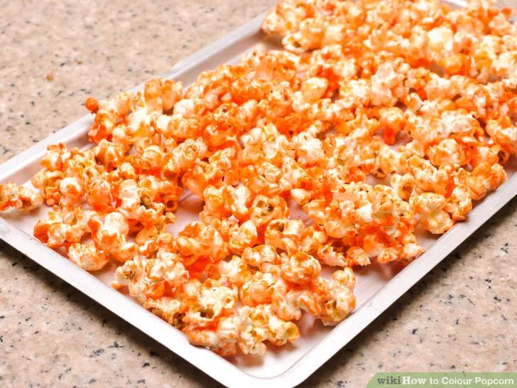 use this popcorn recipe for the red popcorn