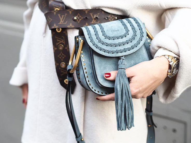 Blue Chloe Hudson Bag