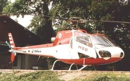 Aérospatiale AS 350B Ecureuil (ardilla)