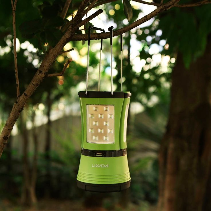 Lixada 10W 600LM LED Rechargeable Ultra Bright Camping Lantern - Tomtop.com
