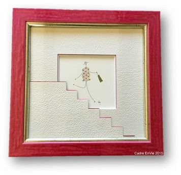 look to the artwork itself for creative matting ideas