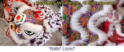 Batik Lions