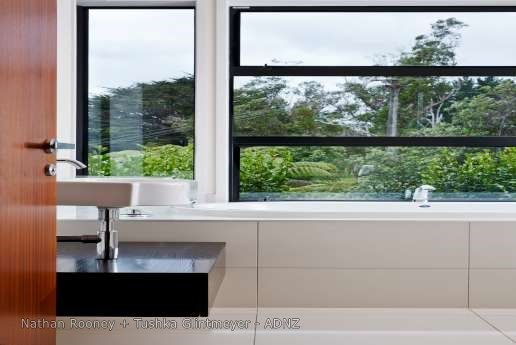 2013 ADNZ | Resene Architectural Design Awards National Finalist - Designed  by Nathan Rooney and Tushka Glintmeyer #ADNZ #bathroom #view #architecture