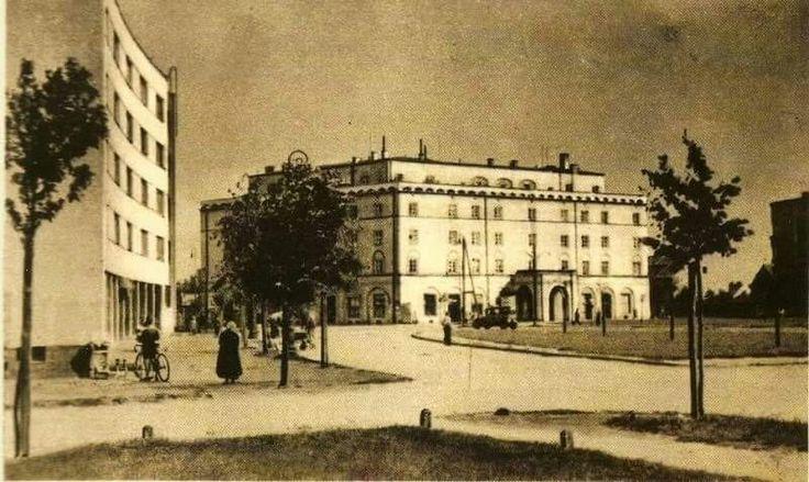 Plac inwalidów przed wojną.