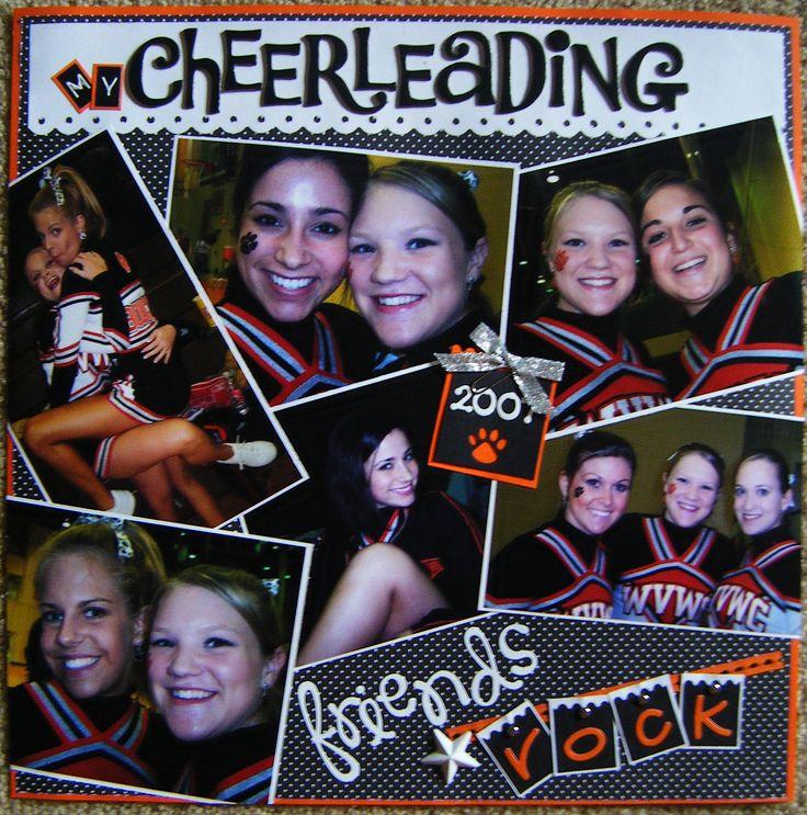 Cheerleading Friends - Scrapbook.com