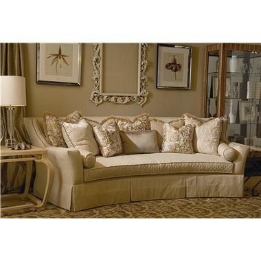 Chaise Sofa A juxtaposition of contemporary and timeless appeals Hartwell sofa bines classic camelback design with its