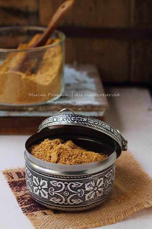 Iyer Rasam powder, rasa podi, rasam spice mix recipe