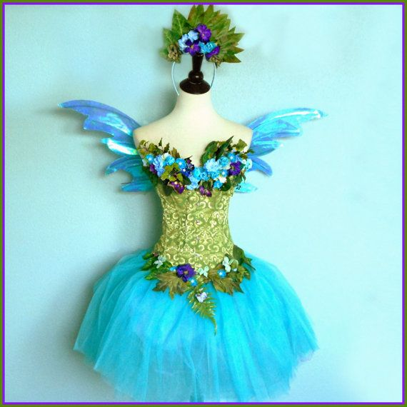Water Fairy  Adult Fairy Costume  Faerie of the by FairyNanaLand, $175.00