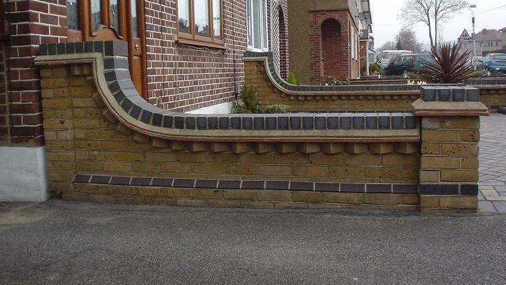 garden wall Google Search wall texture Pinterest Gardens