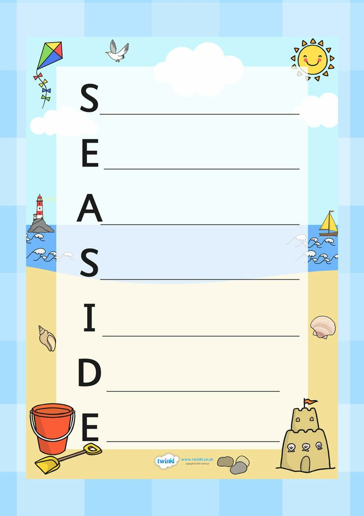 109 best Seaside Resources images on Pinterest | Primary resources ...