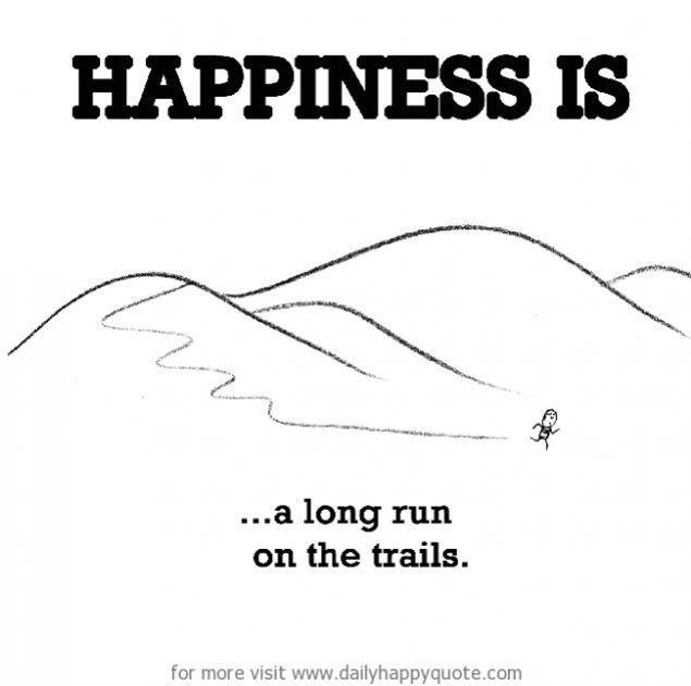 Running happy