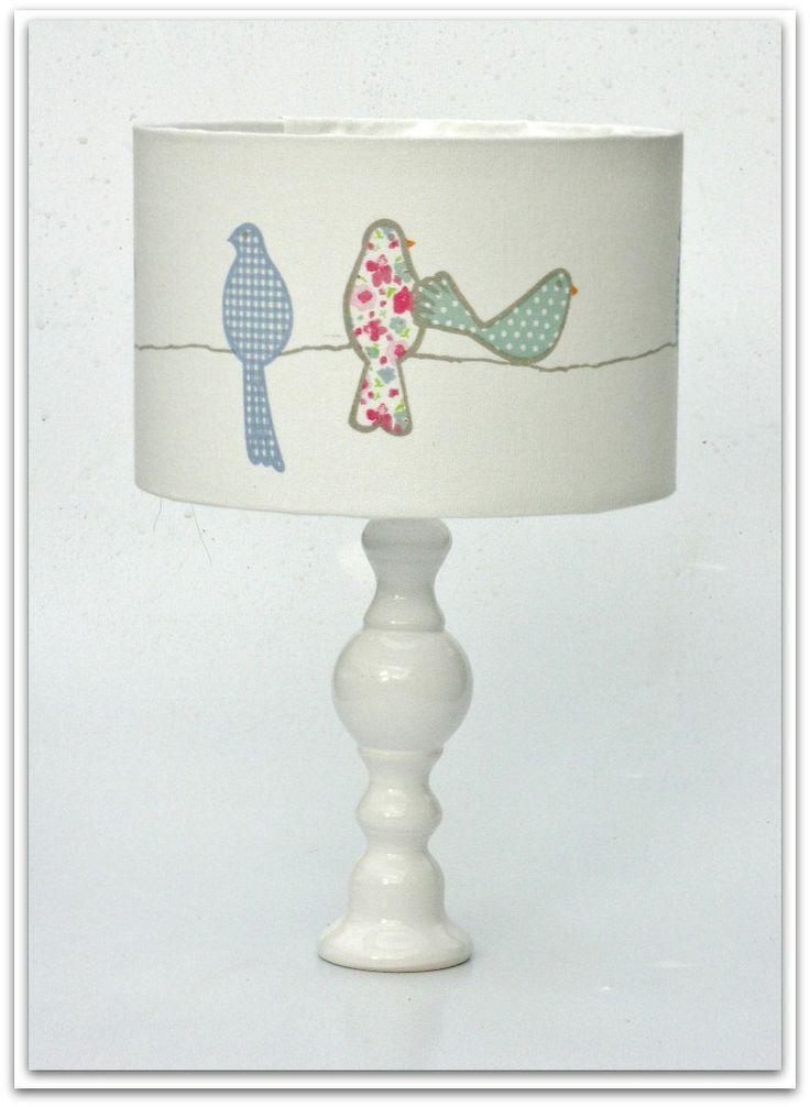 Birds for Girls Lampshade