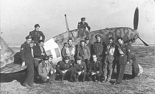 Macchi MC.205, 1° Gruppo Caccia, on Campoformido, North-East Italy, January 1944