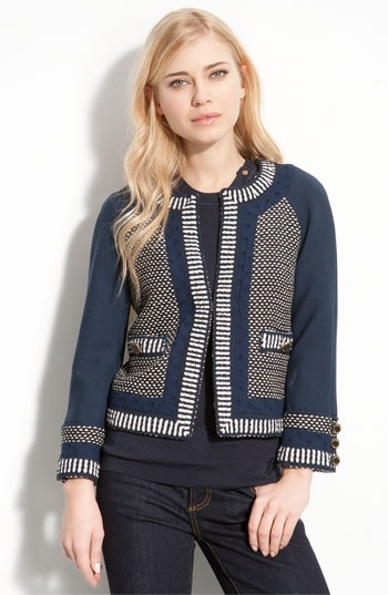 Tory Burch 'Leandra' Crop Jacket   Nordstrom - StyleSays