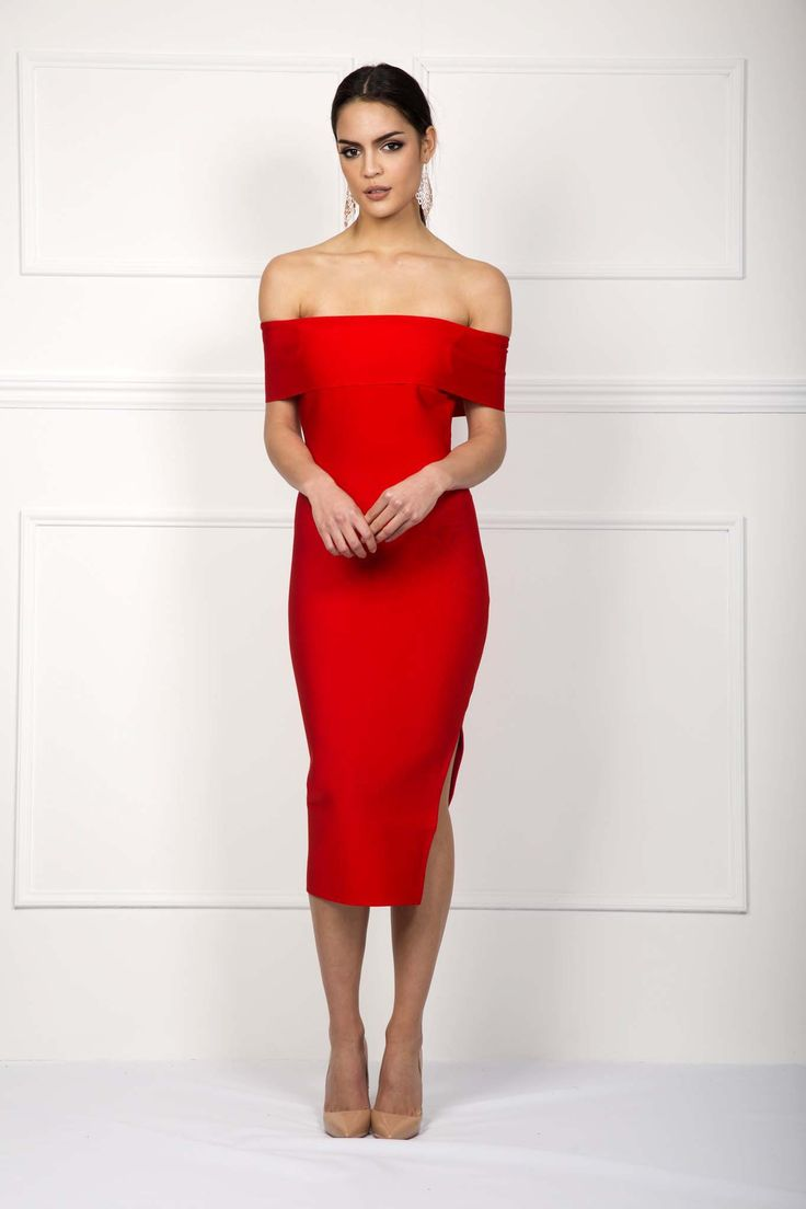 Noodz Boutique - Diana Dress In Red