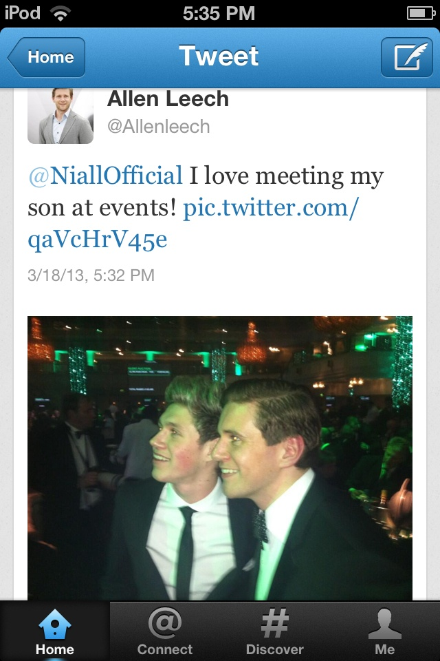 """Allen Leech tweeted this! :)"" STOP STOP. no. This is not ..."