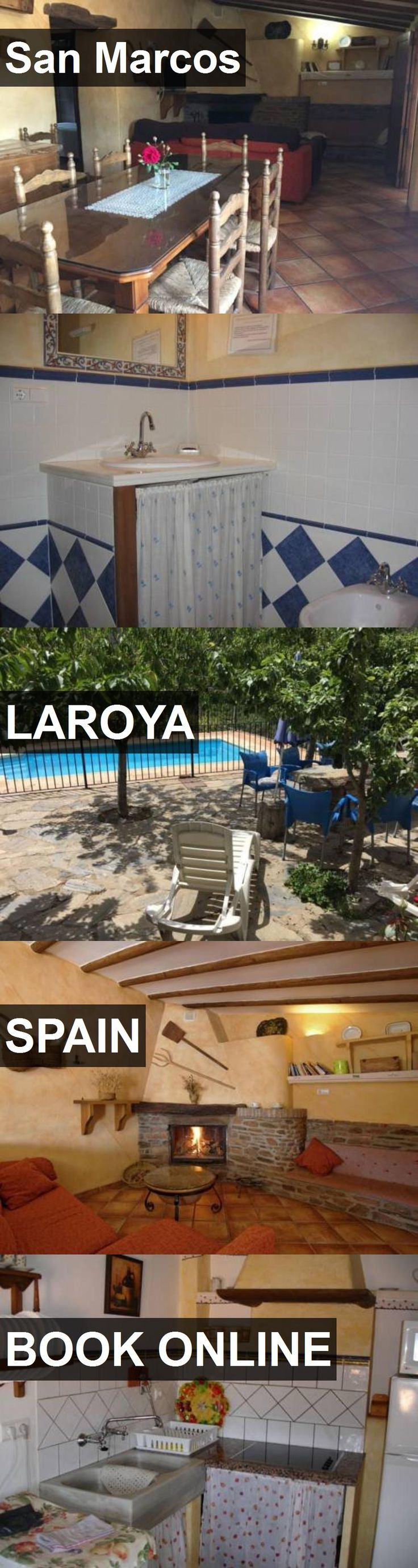 Hotel San Marcos in Laroya, Spain. For more information, photos, reviews and best prices please follow the link. #Spain #Laroya #SanMarcos #hotel #travel #vacation