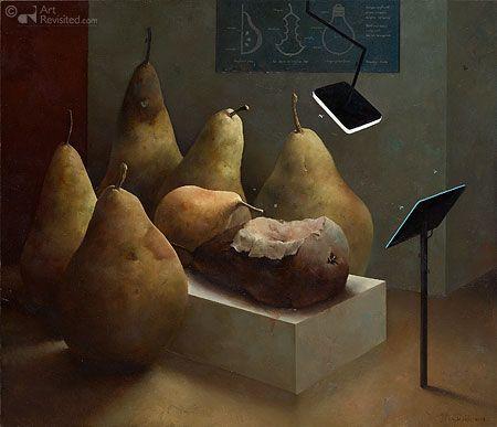 "Marius van Dokkum (Dutch, born 1957)  ""Anatomische les"""