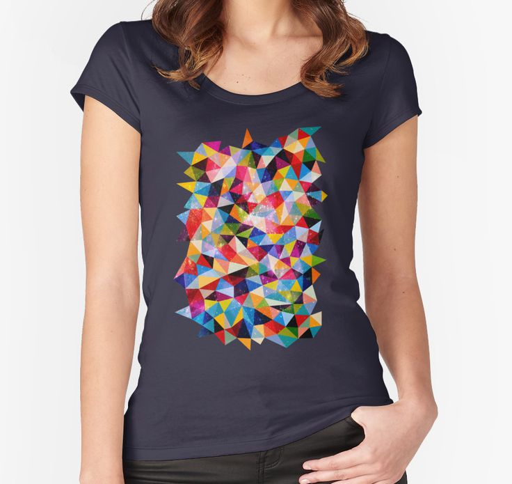 Space Shapes by fimbisdesigns - Redbubble scoop tee AUD26 (2016)
