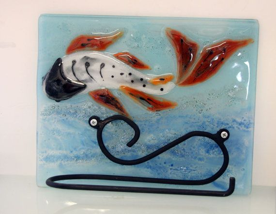 53 best bathroom accessories images on pinterest for Koi fish bathroom decorations