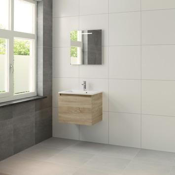 Bruynzeel Nerano badkamermeubel 60 cm bardolino wasbak kopen? Verfraai je huis & tuin met Badkamermeubelen van KARWEI