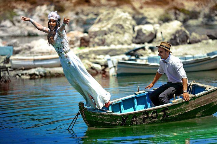 Ρομαντικός γάμος στην Κίμωλο