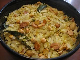 Poha chivda, maharashtrian speciality