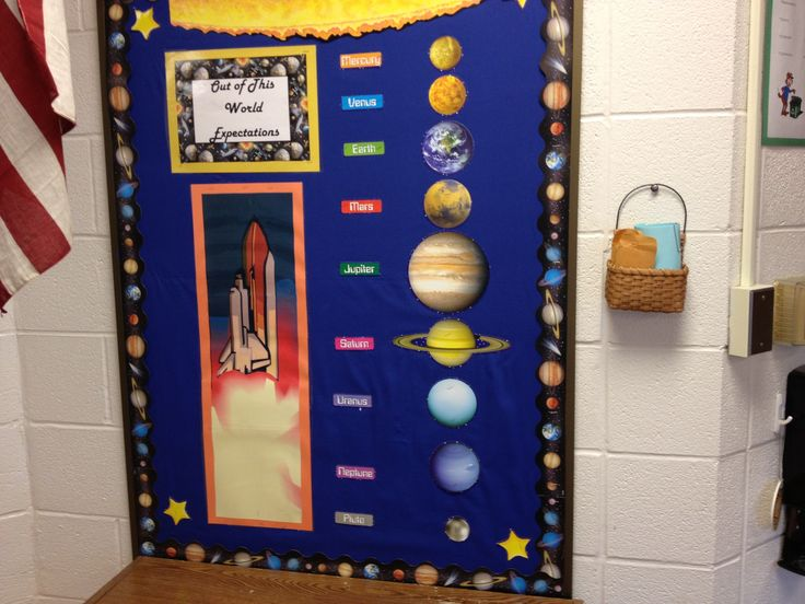 44 best images about outer space theme on pinterest for Outer space classroom decor